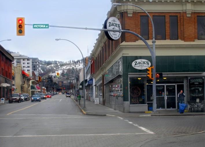 Kamloops downtown