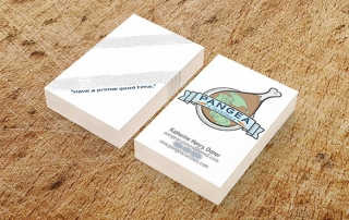 food truck business cards