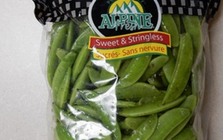 Alpine Fresh brand Snap Peas