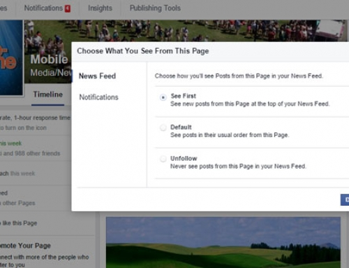 Facebook See First List: Get Your Customers To Add You