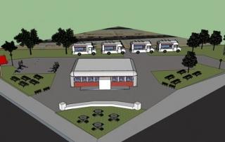 baltimore food truck park crowdfunding