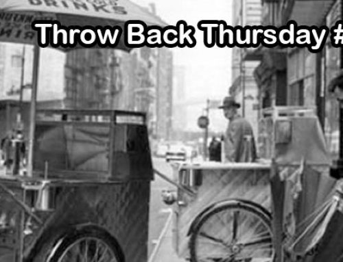 NYC Hot Dog Cart | Food Truck Throw Back Thursday