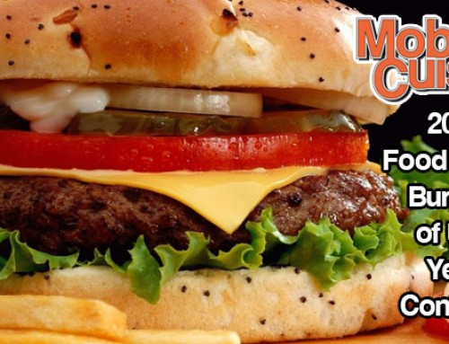 2016 Food Truck Burger Of The Year Contest