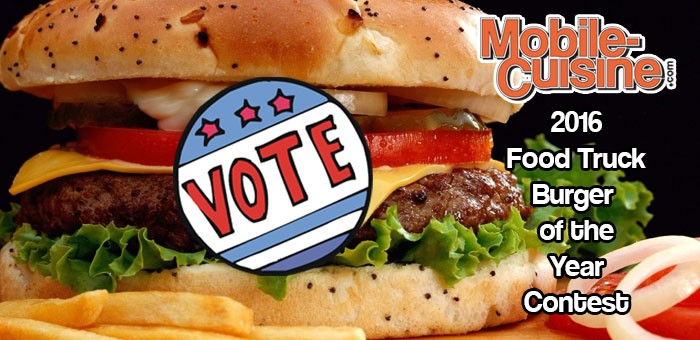 2016 Food Truck Burger Of The Year