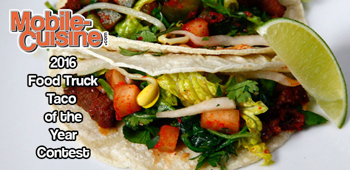 2016 Food Truck Taco Of The Year Contest