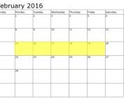 Food Holidays: February 15-19