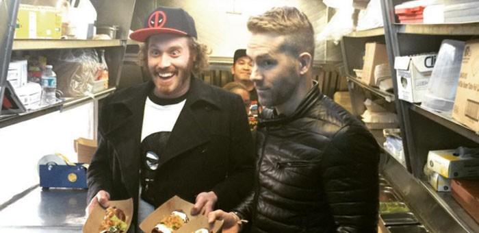 Ryan Reynolds Food Truck