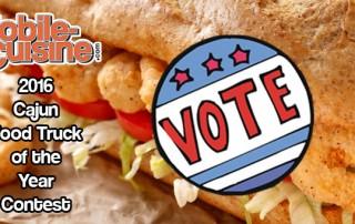 2016 Cajun Food Truck Of The Year