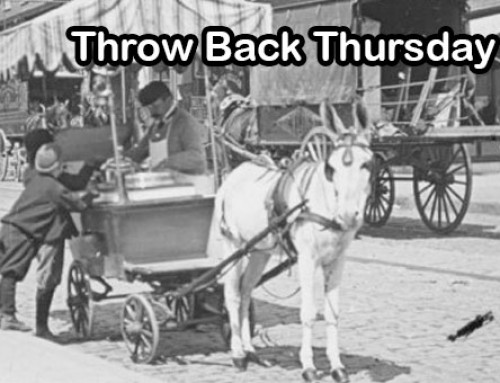 Ice Cream Cart | Food Truck Throw Back Thursday