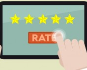 online ratings and reviews