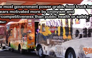 Bob Barr Food Truck Quote