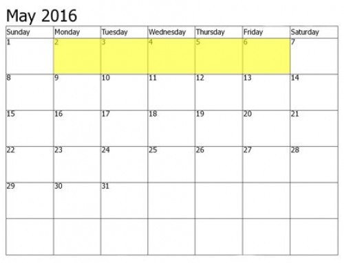 Upcoming Food Holidays | May 2 – 6, 2016