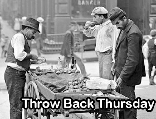 NYC Clam Cart | Food Truck Throw Back Thursday