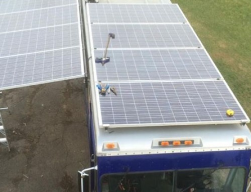 New York Food Truck Operates On Wind And Solar Power