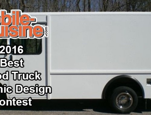 2016 Best Food Truck Graphic Design Contest