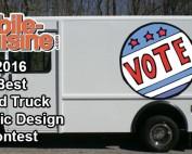 2016 Best Food Truck Graphic Design Vote