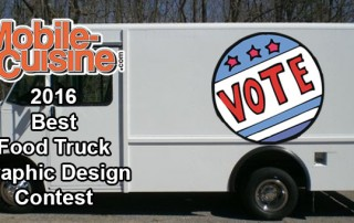 2016 Best Food Truck Graphic Design Vote