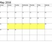 May 23-27 Food Holidays