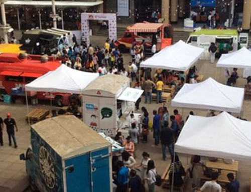 Mumbai Holds Its First Food Truck Festival