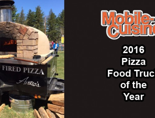 Anzios Brick Oven Pizza: 2016 Pizza Food Truck Of The Year