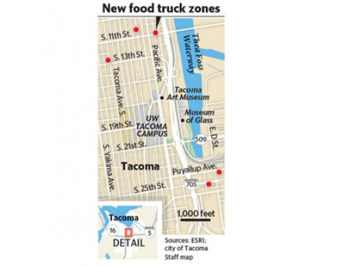 Tacoma Expands Number Of Downtown Food Truck Locations
