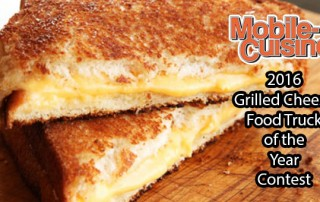 2016 Grilled Cheese Food Truck Contest