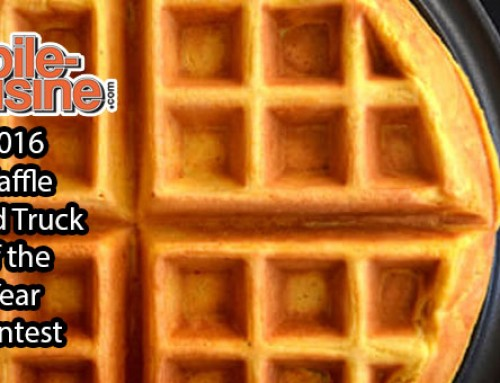 2016 Waffle Food Truck Of The Year Contest