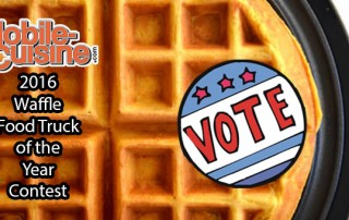 2016 waffle food truck