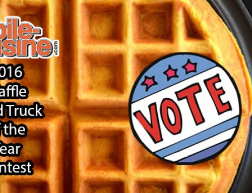 Vote Now! 2016 Waffle Food Truck Of The Year