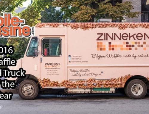Zinneken's Waffles: 2016 Waffle Food Truck Of The Year