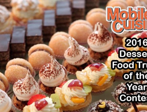 2016 Dessert Food Truck Of The Year Contest