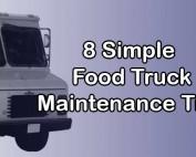 food truck maintenance