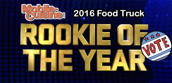 2016 Rookie Food Truck Of The Year