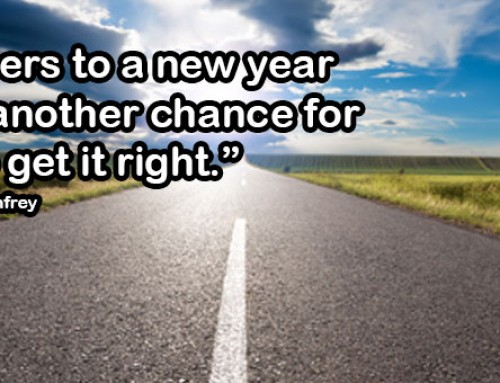 Oprah Winfrey New Year Quote