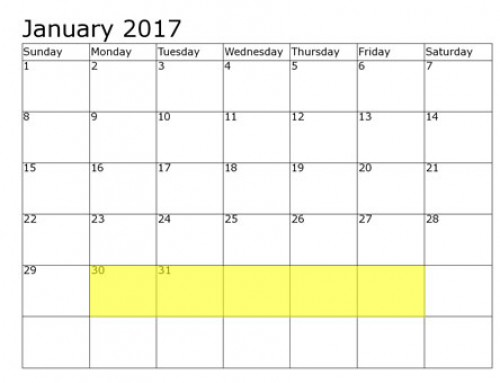 Upcoming Food Holidays | Jan 30-Feb 3, 2017