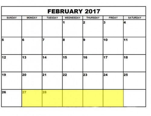 Upcoming Food Holidays | Feb 27 – Mar 3, 2017