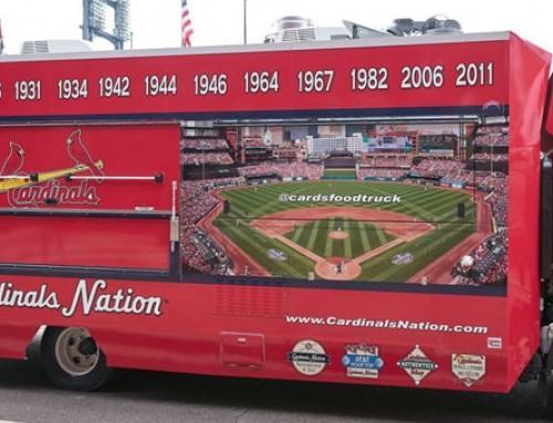 St. Louis Cardinals Introduce Cardinals Nation Food Truck