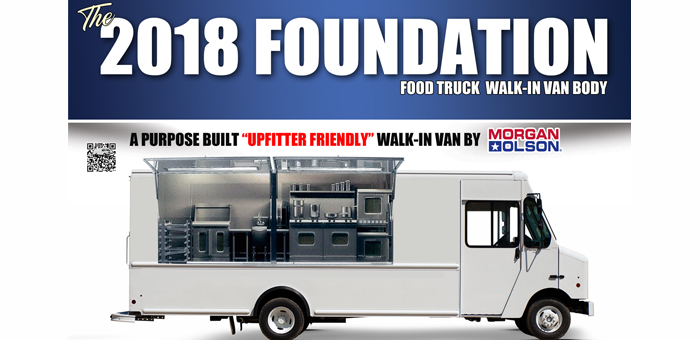 Morgan Olson Unveils Foundation Food Truck At 2017 Work Truck Show