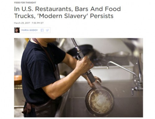 NPR Story Drags Food Truck Industry Into Modern US Slavery