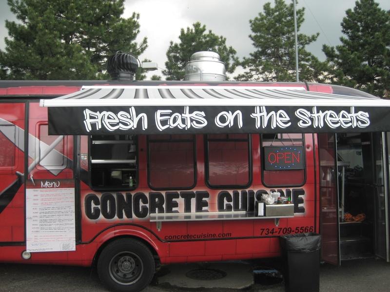 Mobile Chef Food Truck Menu