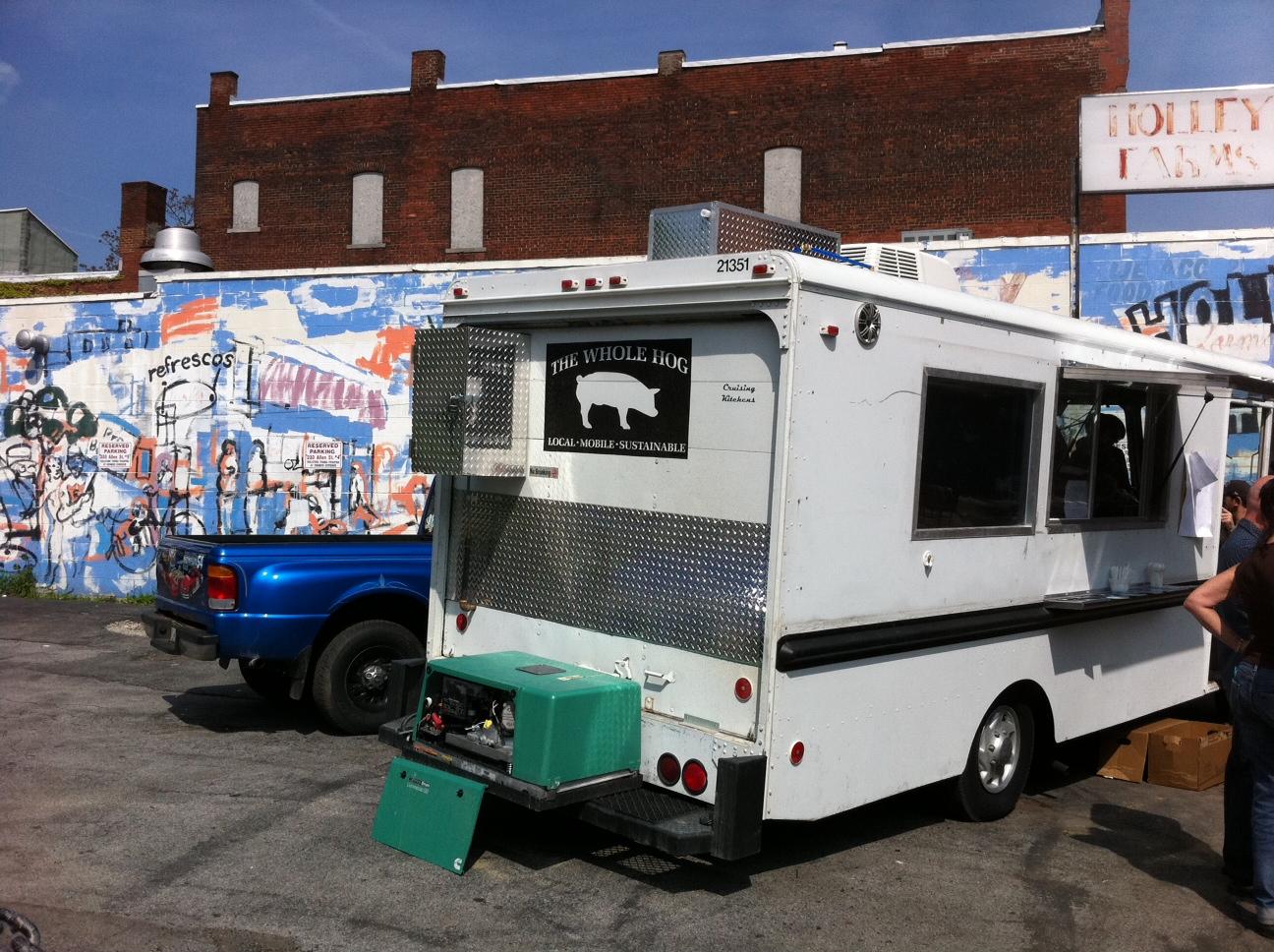 Whole Hog Food Truck Menu