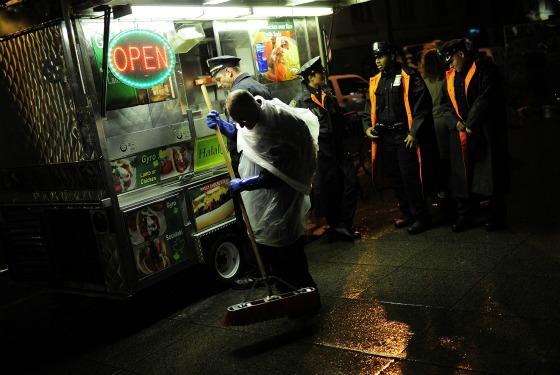 Good Food Trucks Near Times Square