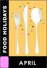 April food holidays