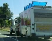 Food Truck Breaks Down