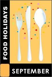 September Food Holidays