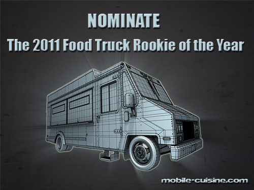 2011 Food Truck Rookie of the Year