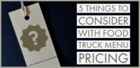 Food Truck Menu Pricing