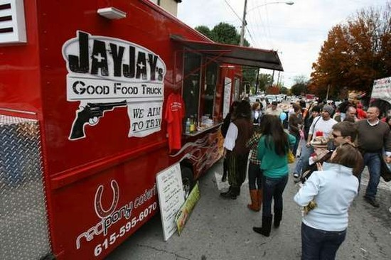 Food Trucks Fuel Moveable Feasts In Tennessee