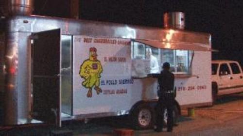 San Antonio Food Truck Robbed