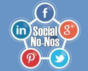 Social Media No No's